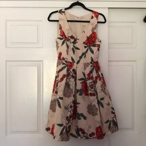 Floral Modcloth dress (NWOT)